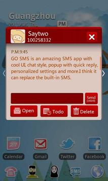 GO SMS Pro SMSbox Theme apk screenshot