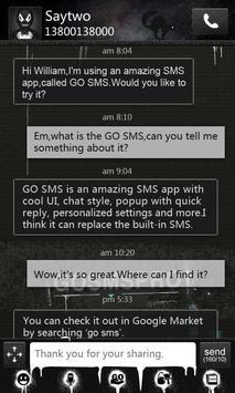 GO SMS Pro Thief Theme poster
