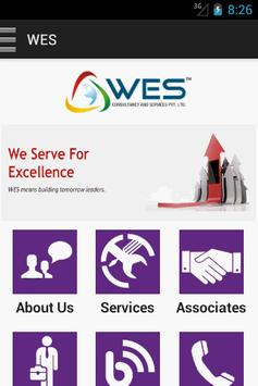 WES Consultancy and Services poster