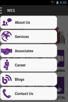 WES Consultancy and Services apk screenshot