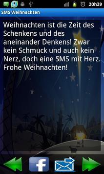 SMS Weihnachten poster