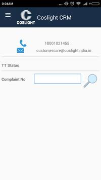 Coslight CRM apk screenshot