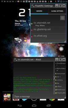 FloatIRC Beta - Floating Chat poster