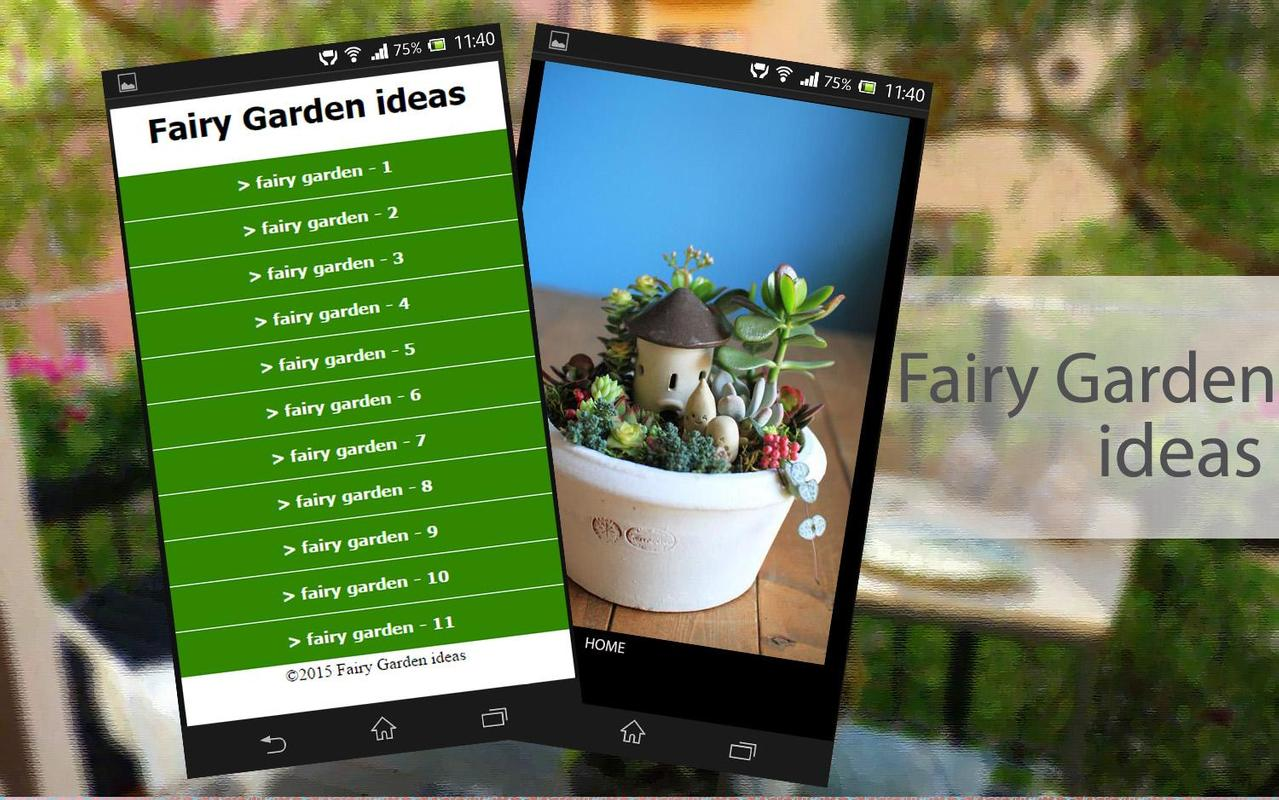 Fairy garden ideas apk download free lifestyle app for for Garden design ideas app