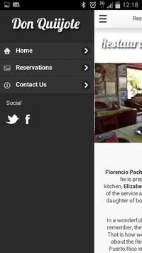 Restaurante Don Quijote apk screenshot