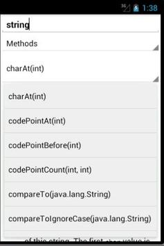 JDK7 Javadoc Explorer apk screenshot