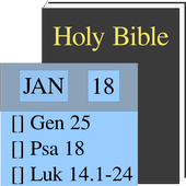Read Holy Bible In A Year icon