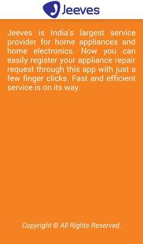 Jeeves Appliance Repair apk screenshot