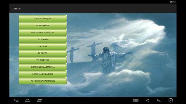 Oraciones cristianas poster