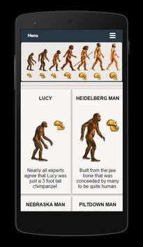 Evolution Facts poster