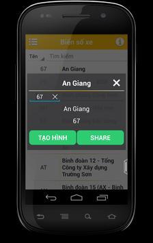 Tim SDT - Bien So Xe - Ma BC apk screenshot