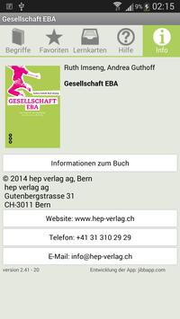 Gesellschaft EBA apk screenshot