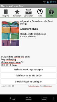 Allgemeinbildung Basel apk screenshot
