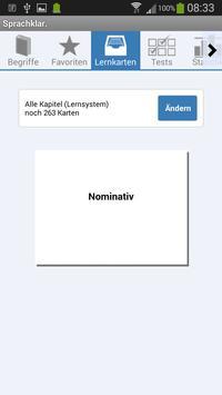 Sprachklar. apk screenshot