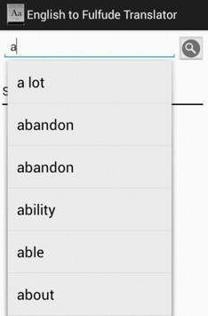 Hausa Fufude Kanuri Dictionary apk screenshot