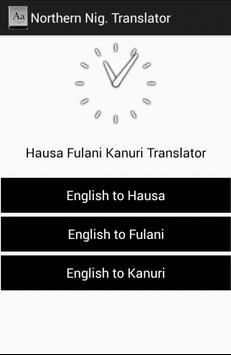 Hausa Fufude Kanuri Dictionary poster