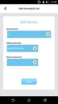 K3 GSM Security Alarm apk screenshot