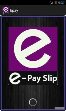 E-pay poster