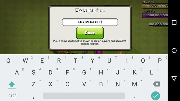 FHX MEGA COC apk screenshot