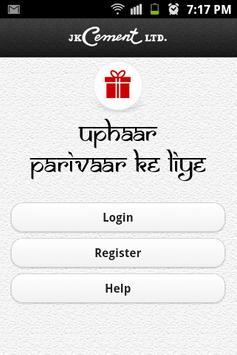 J.K. Cement Uphaar Token App poster