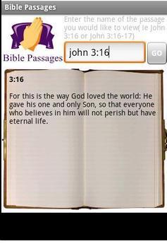 Bible Passages apk screenshot