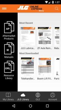 JLG Online Express Library apk screenshot