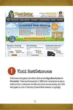 A Website in 7min apk screenshot