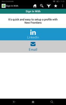 New Frontiers Travel Jobs apk screenshot