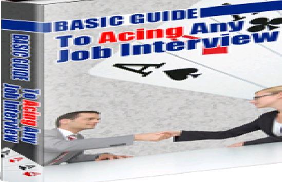 Acing Job Interview poster
