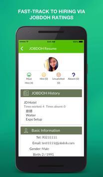 Get part-time, temp jobs now apk screenshot