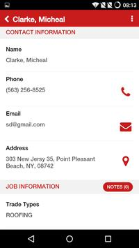 JobProgress CRM Tool apk screenshot