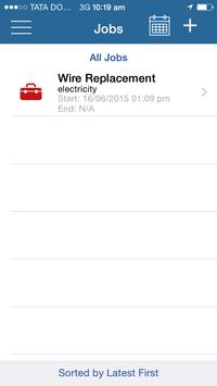 JobsTrac - Job Dispatch apk screenshot