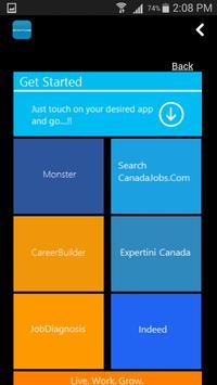 Job Search Canada poster