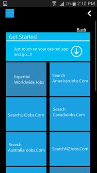 Job Search Global poster