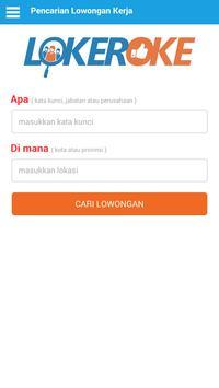 Cari Kerja di Lokeroke.com poster