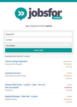 Job Search - London apk screenshot