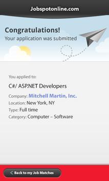 JobSpotOnline apk screenshot