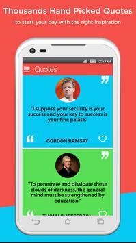 Best Success Quotes Quote Pad™ apk screenshot