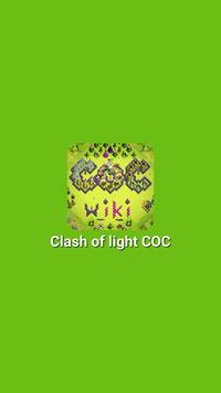 Clash Of Light COC poster