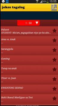 Tagalog Jokes filipino funny apk screenshot