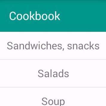 Cookbook. Recipes apk screenshot