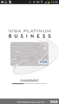 Visa Platinum Business poster