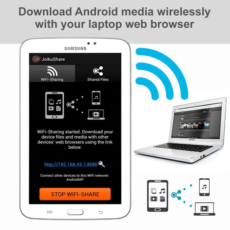 WiFi File Share FREE APK Download - Free Social APP for ...