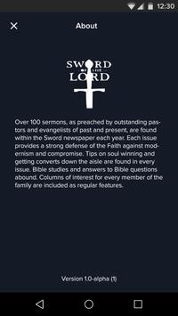 SWORD OF THE LORD apk screenshot