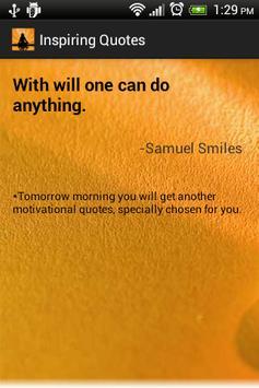 Daily Inspirational Quotes apk screenshot
