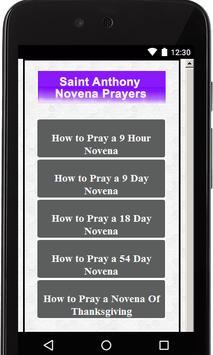 Saint Anthony Novenas apk screenshot