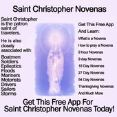 Saint Christopher Novenas icon