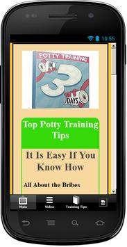 Potty Training In 3 Days apk screenshot