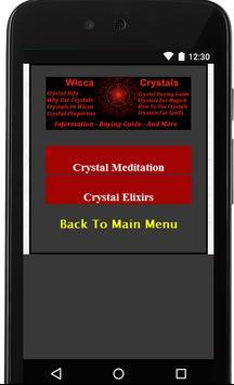 Wicca Crystals apk screenshot