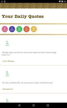 Your Daily Quotes apk screenshot